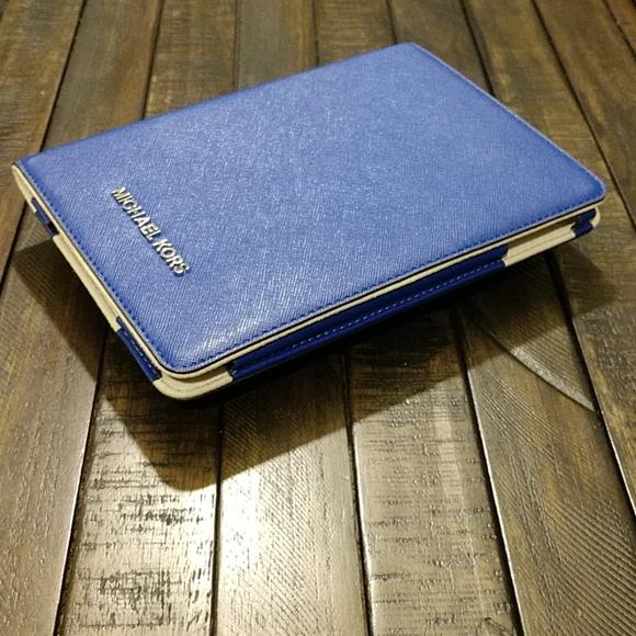 Michael Kors Ipad Mini Case Royal Blue